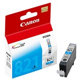 CANON Cyan Ink Cartridge [CLI821C] - Tinta Printer Canon